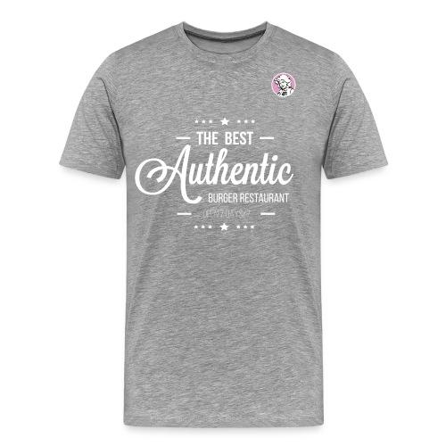 the best authentic burger gj - T-shirt Premium Homme