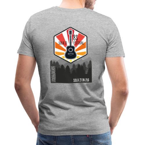 Sola21Cover - Männer Premium T-Shirt