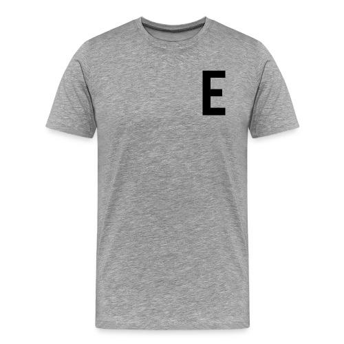 letter e 512 png - Men's Premium T-Shirt