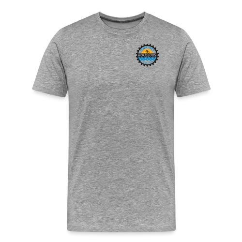 Guernsey Rouleurs Small Logo - Men's Premium T-Shirt