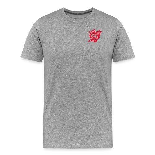 Small logo tee red - Men's Premium T-Shirt