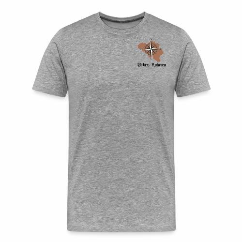 eerste tshirt urbexlokeren - Mannen Premium T-shirt
