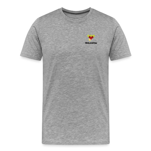 Logo cmyk gruen gelb - Männer Premium T-Shirt