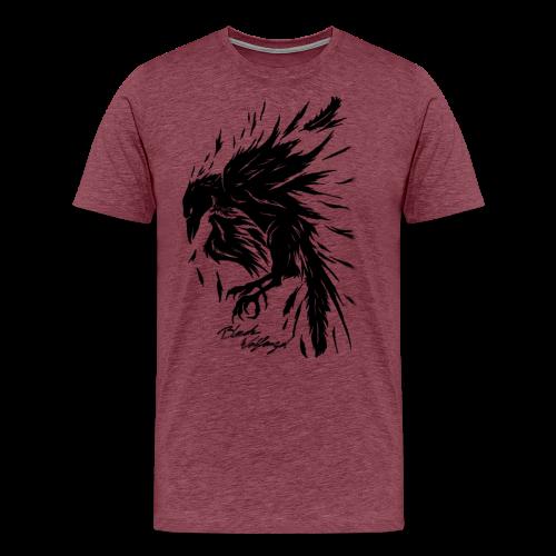 raven_tribal - Männer Premium T-Shirt
