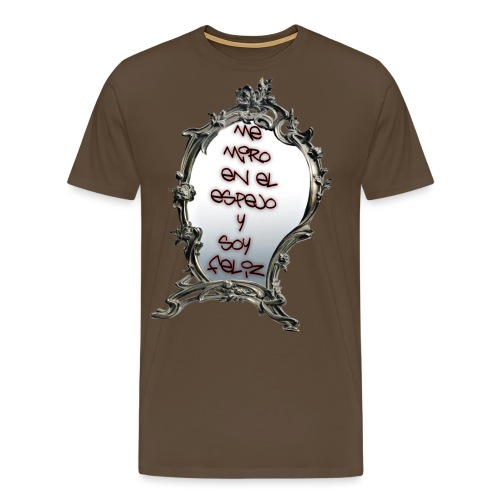 ME MIRO EN EL ESPEJO.... - Camiseta premium hombre