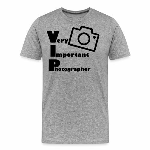 very important photographer - Männer Premium T-Shirt