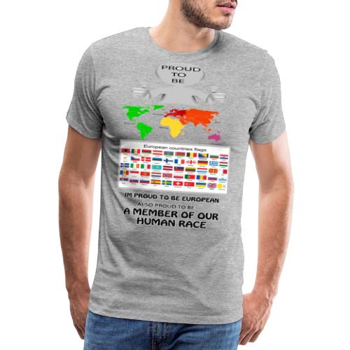 proud to be european - Men's Premium T-Shirt
