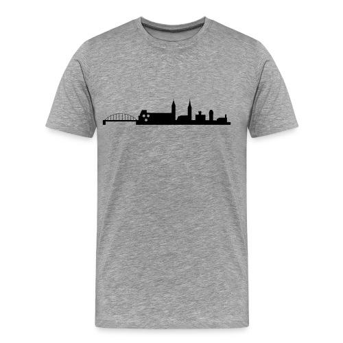 Skyline Moosburg 2 - Männer Premium T-Shirt