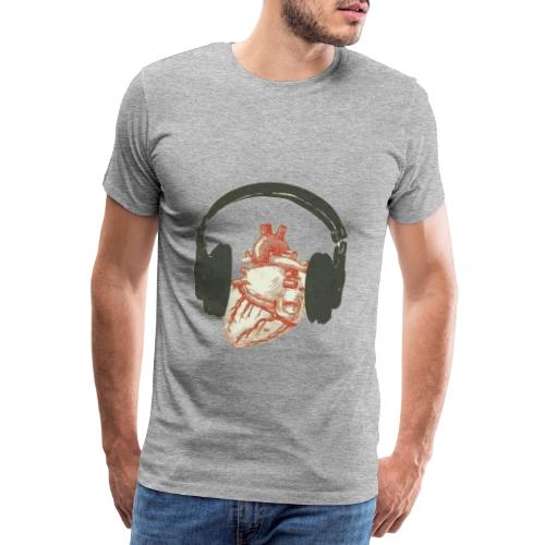 Music in the heart - T-shirt Premium Homme