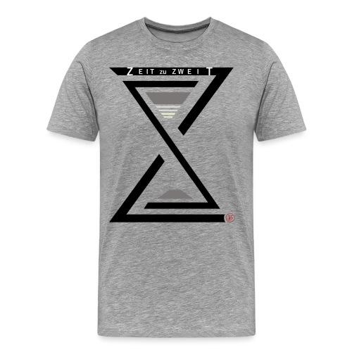 Zeit zu Zweit by iKAB - Männer Premium T-Shirt