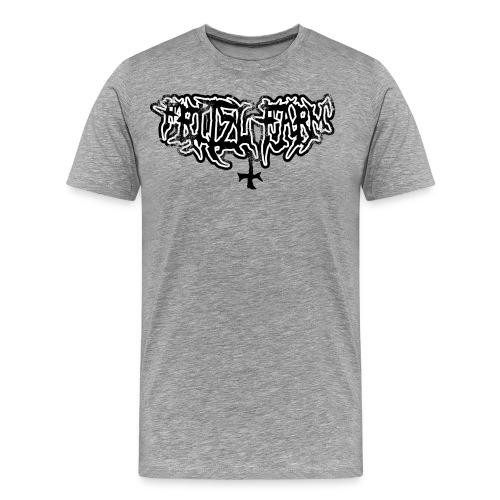 FF69 Font - Männer Premium T-Shirt