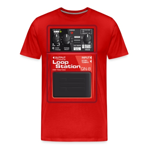 Loop Station - Männer Premium T-Shirt