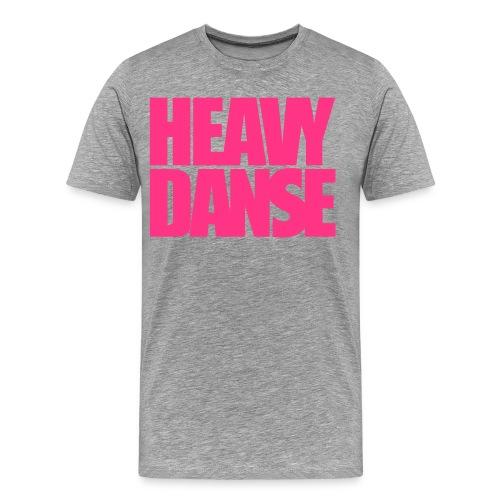 logoHeavyDanseGras - T-shirt Premium Homme
