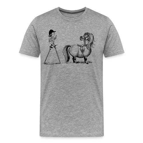 Thelwell Aufstiegshilfe mit Stelzen - Männer Premium T-Shirt