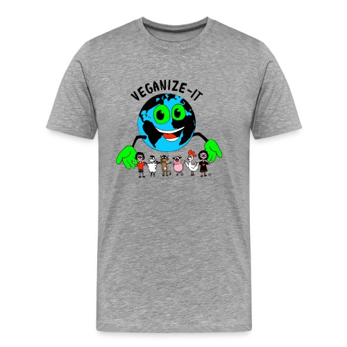 veganize-it-bunt - Männer Premium T-Shirt