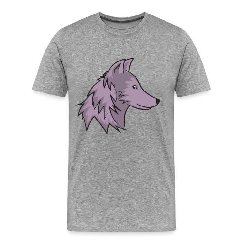 Wolf Schöner Wolf Comic Wolf Hübscher Wolf - Men's Premium T-Shirt