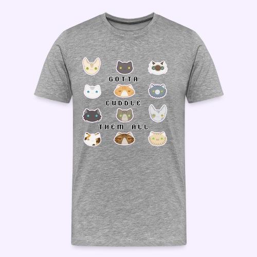 All the Cats - Maglietta Premium da uomo