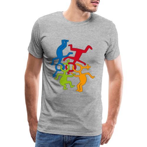 loveislove ris 600 png - Men's Premium T-Shirt