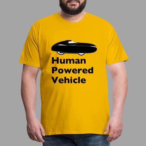 Quest Human Powered Vehicle 2 black - Miesten premium t-paita
