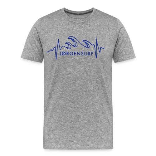 Logo Jørgensurf - Männer Premium T-Shirt