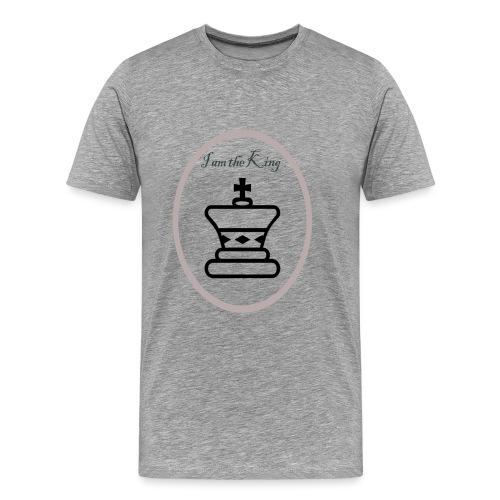 I am the King - Camiseta premium hombre