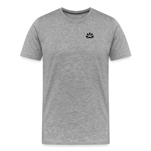 Julian Hanßen Logo (schwarz) - Männer Premium T-Shirt