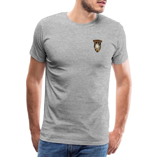 Tiger Patch and Tiger Shield - Men's Premium T-Shirt