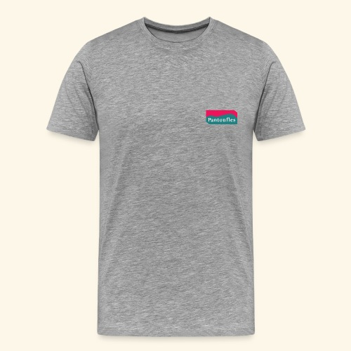 pantoufle - T-shirt Premium Homme