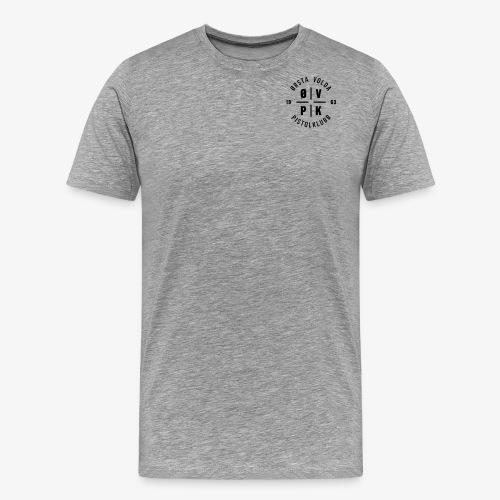 VPK logo emblem svart - Premium T-skjorte for menn