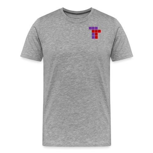 logo randlos no shadow - Männer Premium T-Shirt
