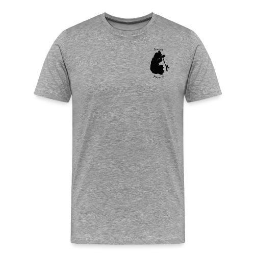 black bored apparel logo - Men's Premium T-Shirt