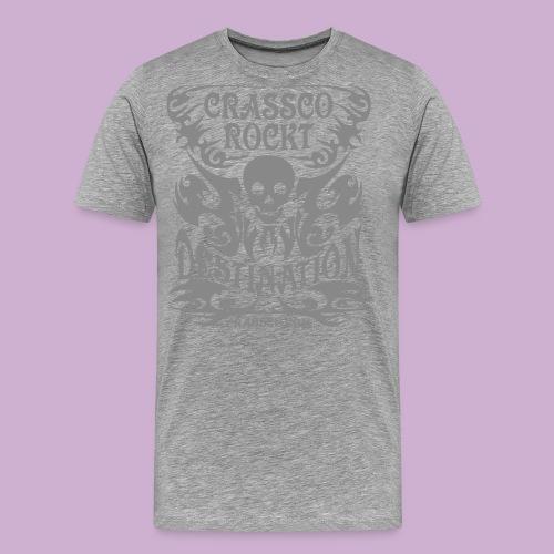 SKULL DESTINATION - Männer Premium T-Shirt