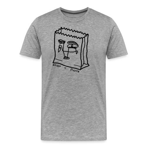 Bag o fun png - Men's Premium T-Shirt