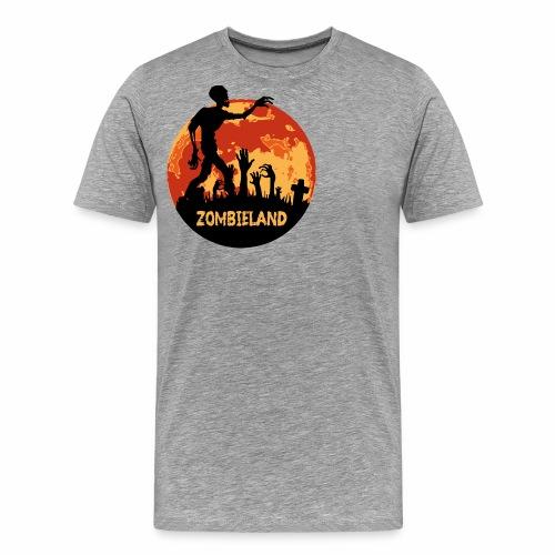 Zombieland Halloween Design - Männer Premium T-Shirt