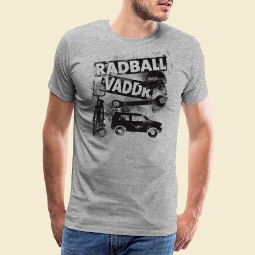 Radball   Vaddr - Männer Premium T-Shirt