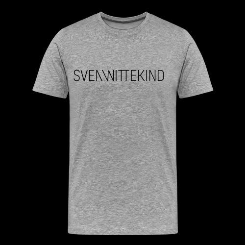 SVEN WITTEKIND SCHRIFTZUG - Männer Premium T-Shirt