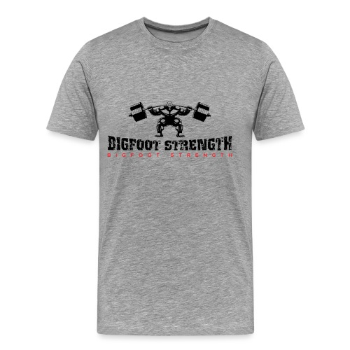 Bigfoot Strength 1 - Men's Premium T-Shirt