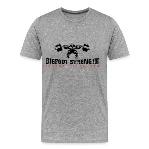 Bigfoot Strength 1 - Men's Premium T-Shirt