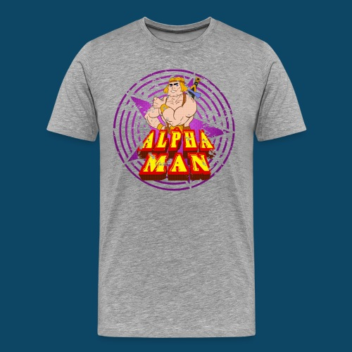 alphatshirt png - T-shirt Premium Homme