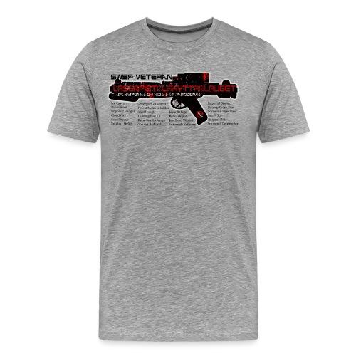 swbf veteran - Premium T-skjorte for menn