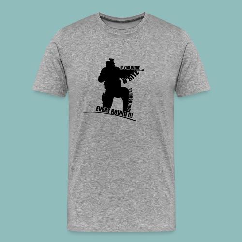 I'd rush you - Black Version - Männer Premium T-Shirt