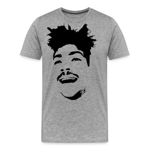 black png - Männer Premium T-Shirt
