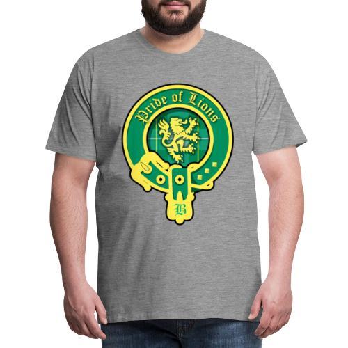 pride of lions logo - Männer Premium T-Shirt