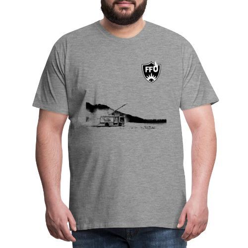 BLACKnWHITE RLF - Männer Premium T-Shirt