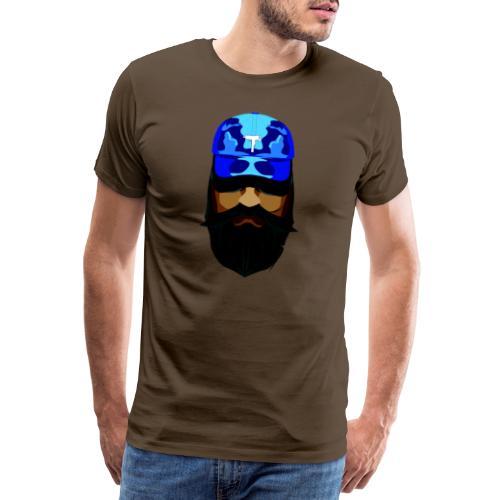 T-shirt gorra dadhat y boso estilo fresco - Camiseta premium hombre