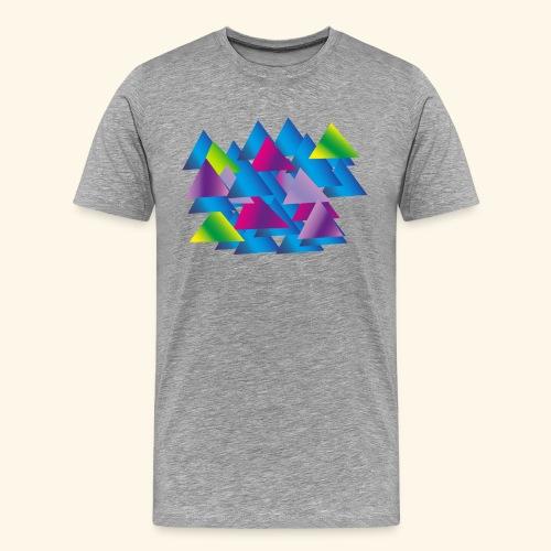 Triangle - Men's Premium T-Shirt