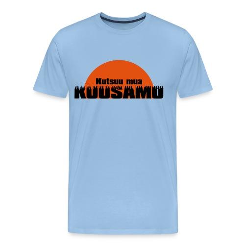 kuusamo - Miesten premium t-paita