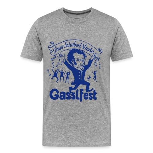 Franz Schubert-Straße Gasslfest - Männer Premium T-Shirt