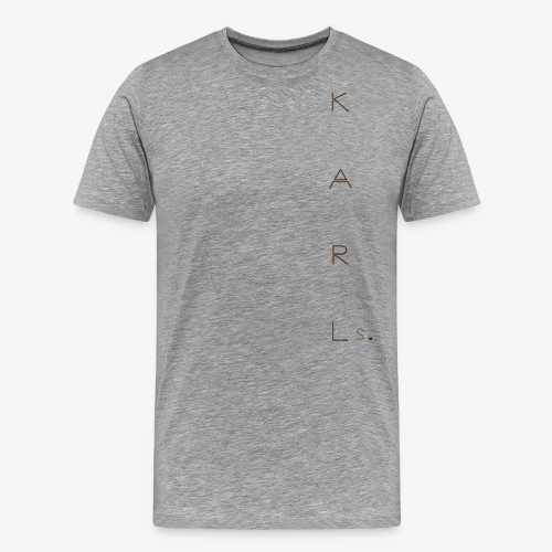 Karl.s Design 5 - Premium-T-shirt herr