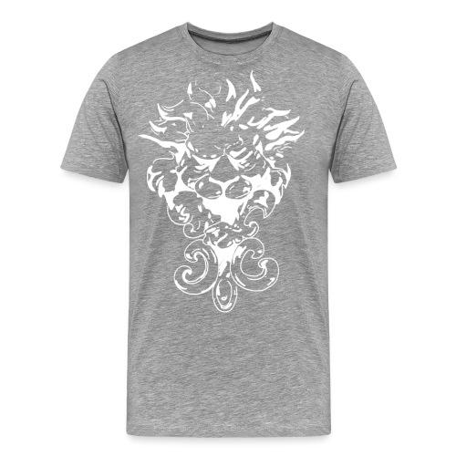 Abstrakter Löwe - Männer Premium T-Shirt